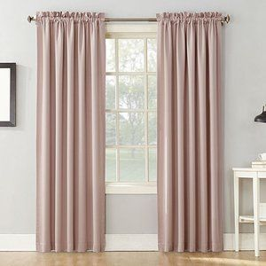 Lichtenberg Blush Room Darkening Curtains